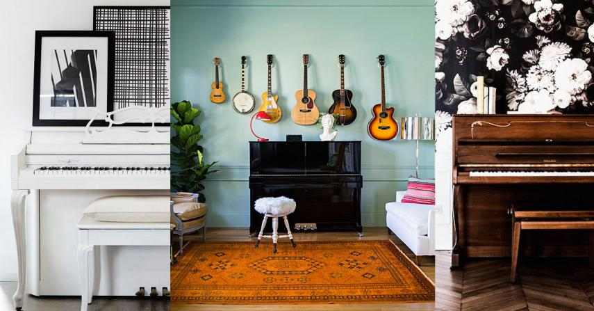 20 Piano room decor ideas
