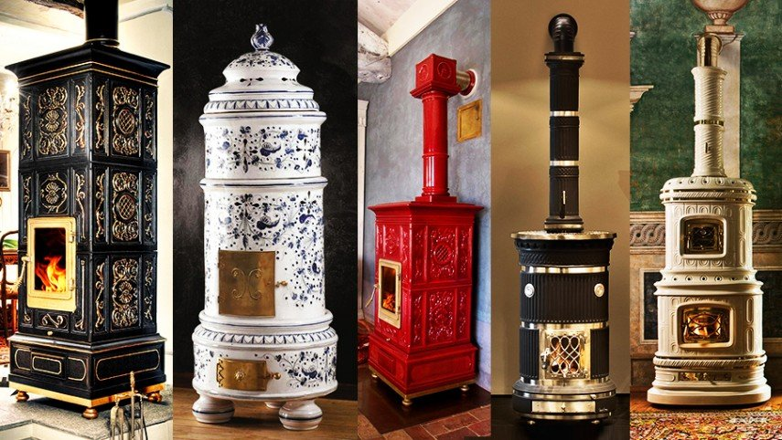Stunning Ceramic Heating Stoves