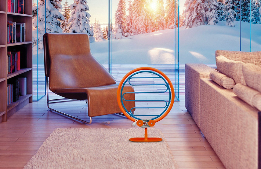Donut Bag Mobile steel decorative radiator by Scirocco