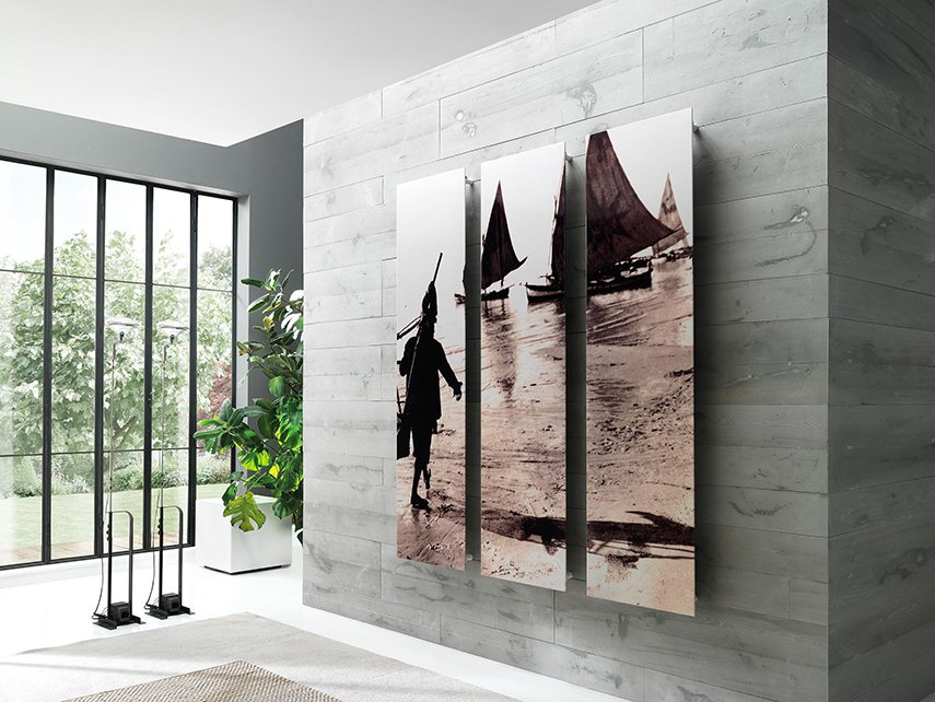 Frame Picture carbon steel panel radiator by Cordivari