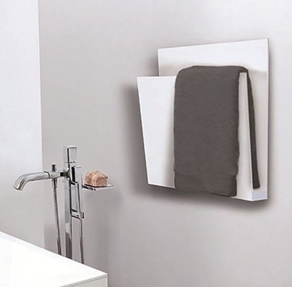 Magazine Wall-mounted electric aluminium towel warmer by mg12
