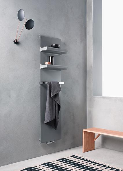 REBEL carbon steel panel radiator by Caleido