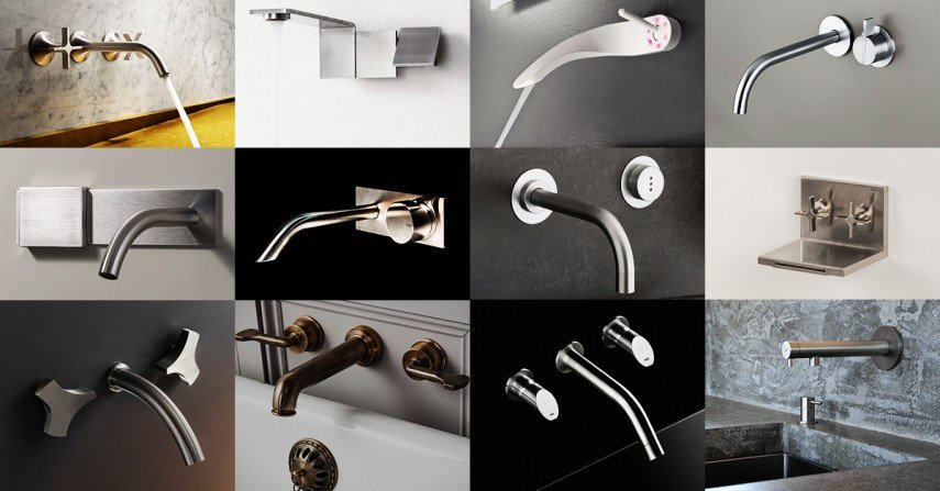 Coolest Wall Mount Faucets for a modern bathroom