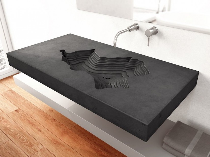 The Map is one of our favorite sinks - very unique