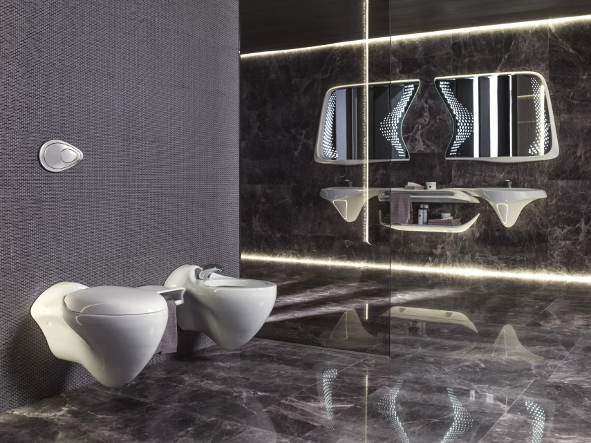 Bathrooms with high design