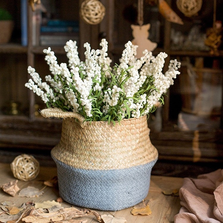 Shabby chic faux flowers