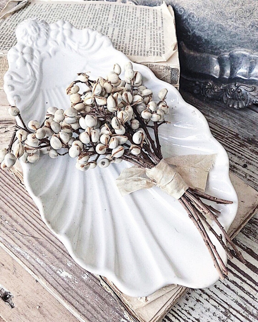 These dried berries almost look like sea shells