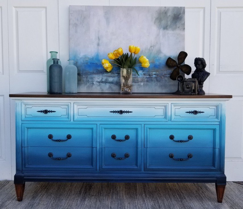 Hand Painted Furniture Is All The Rave 100 Ideas And Tips Decor Tango