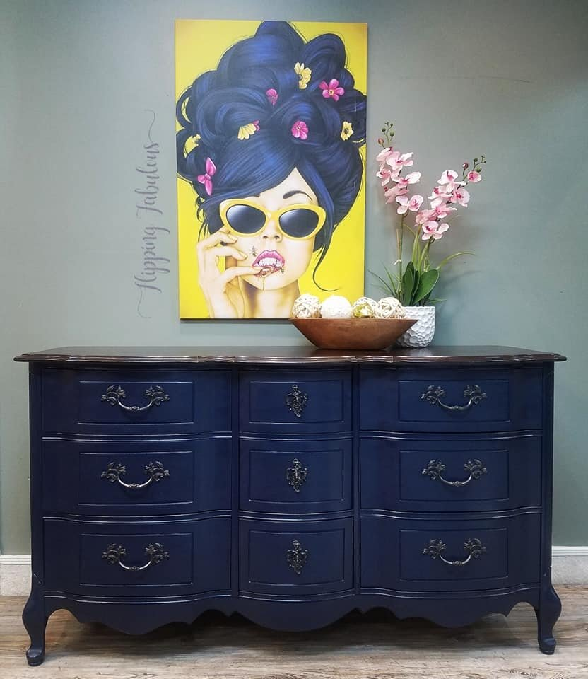 Custom painted furniture never looked so good