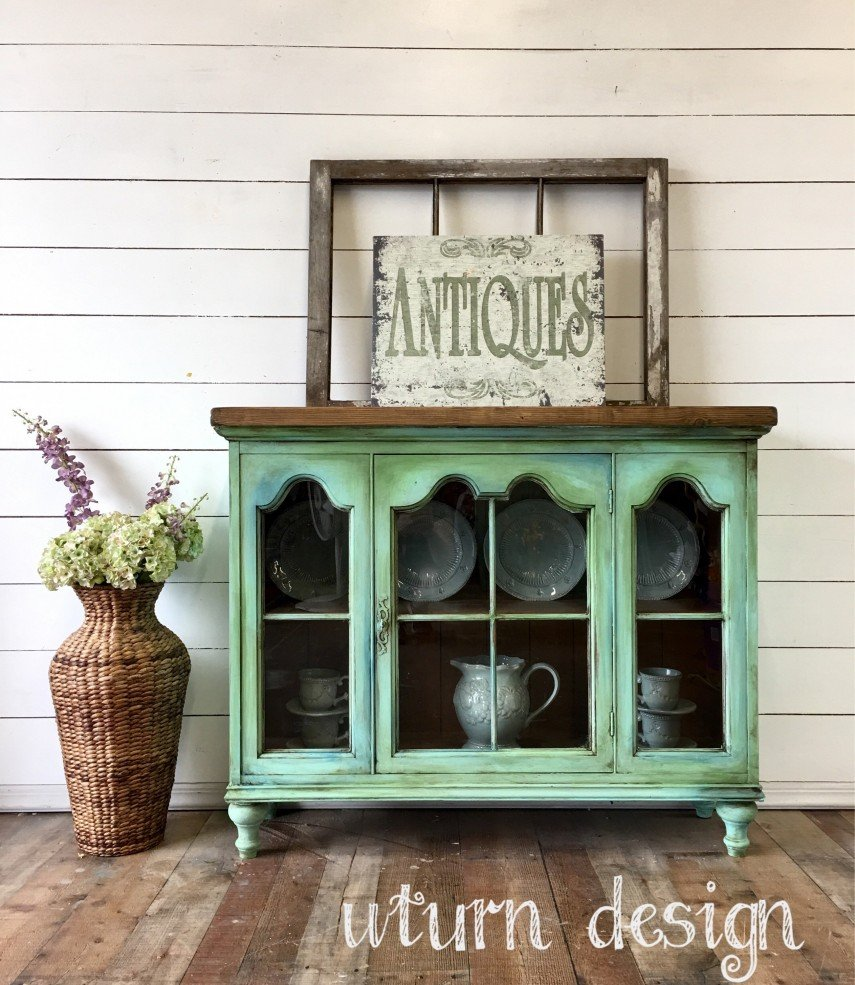 This vintage look is perfect for a Farmhouse style decor