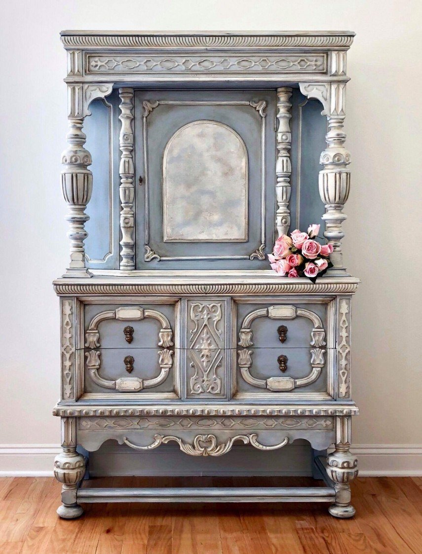 Beautifully detailed and finely crafted - this piece looks incredible painted like this