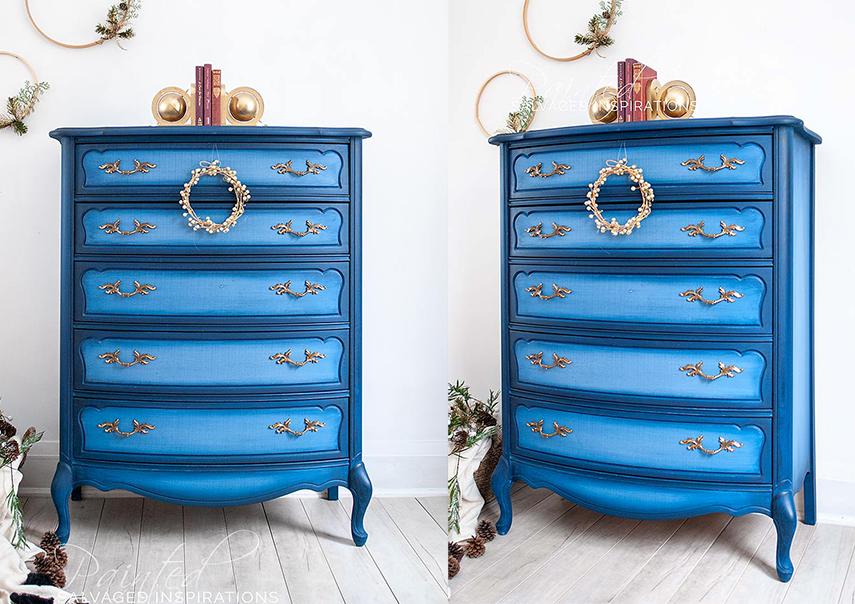 Color blending makes charming furniture
