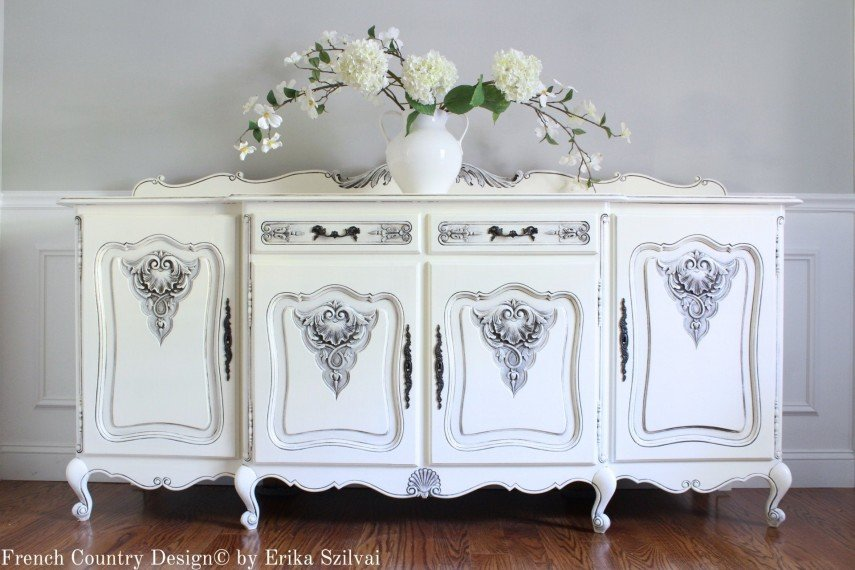 This Louis XV buffet is a stunning piece of custom made furniture