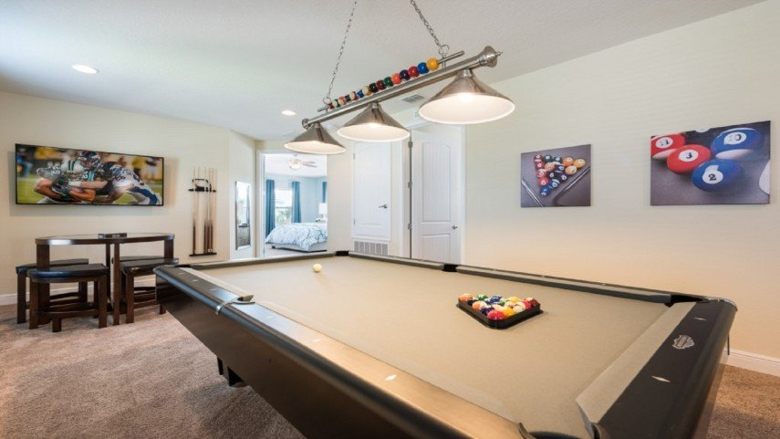 Add some billiards-themed art to your walls