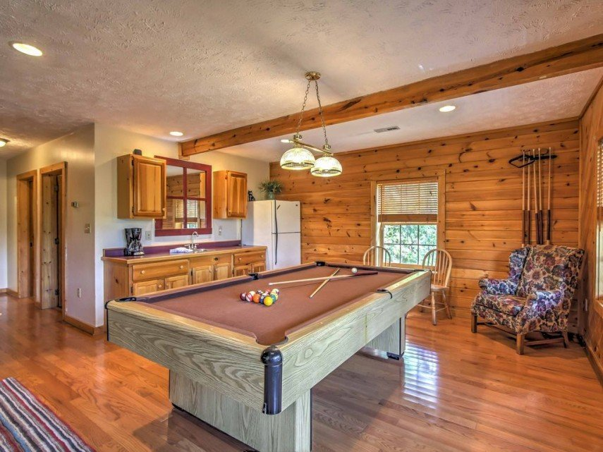 You can put your pool table wherever it fits