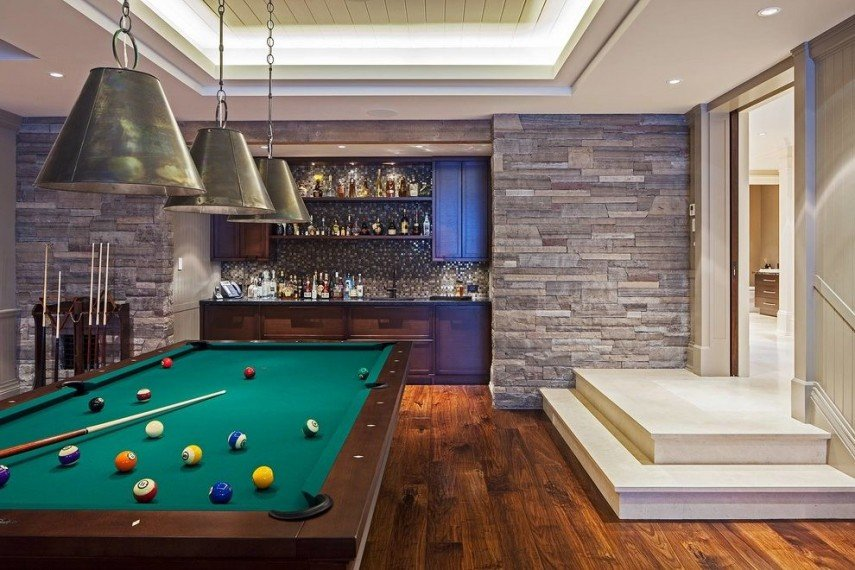 Bars and pool tables - they go together like nothing else