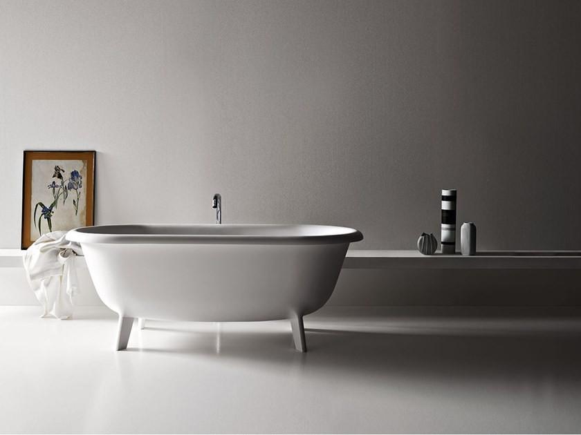 bathtub on legs