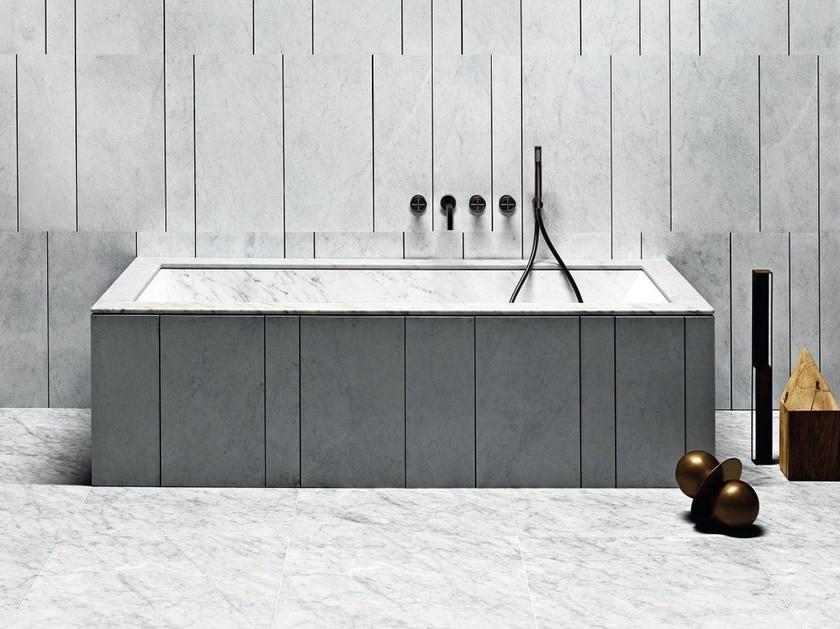 marble stone bathtub