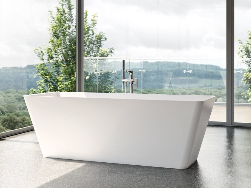 rectangle freestanding bathtub