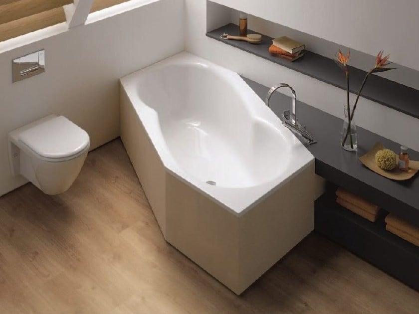 Hexagon Bathtub