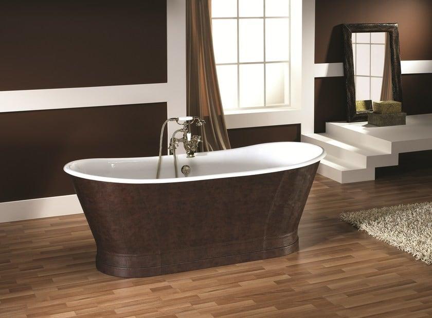 leather bathtub