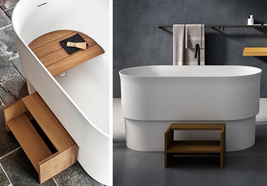 seated bathtub