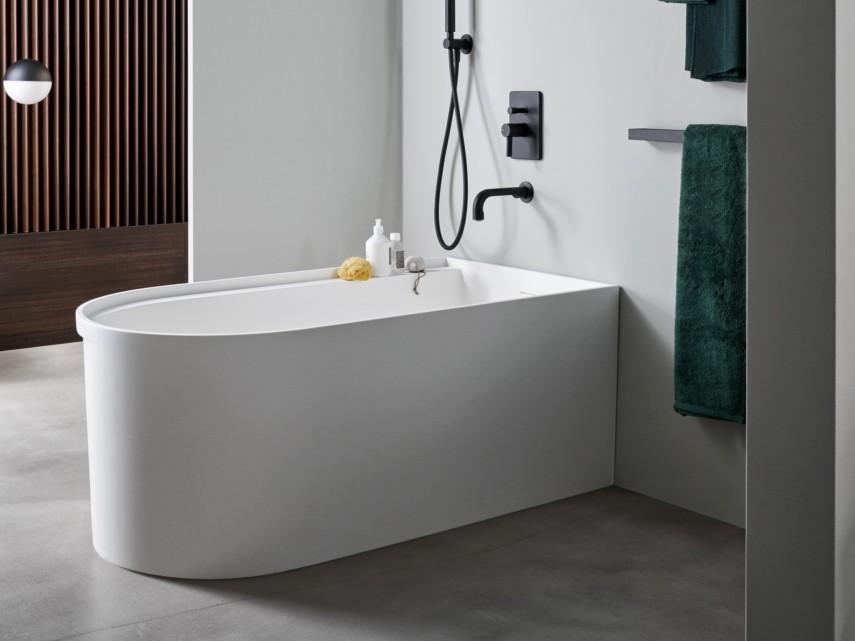 rounded rectangle bathtub