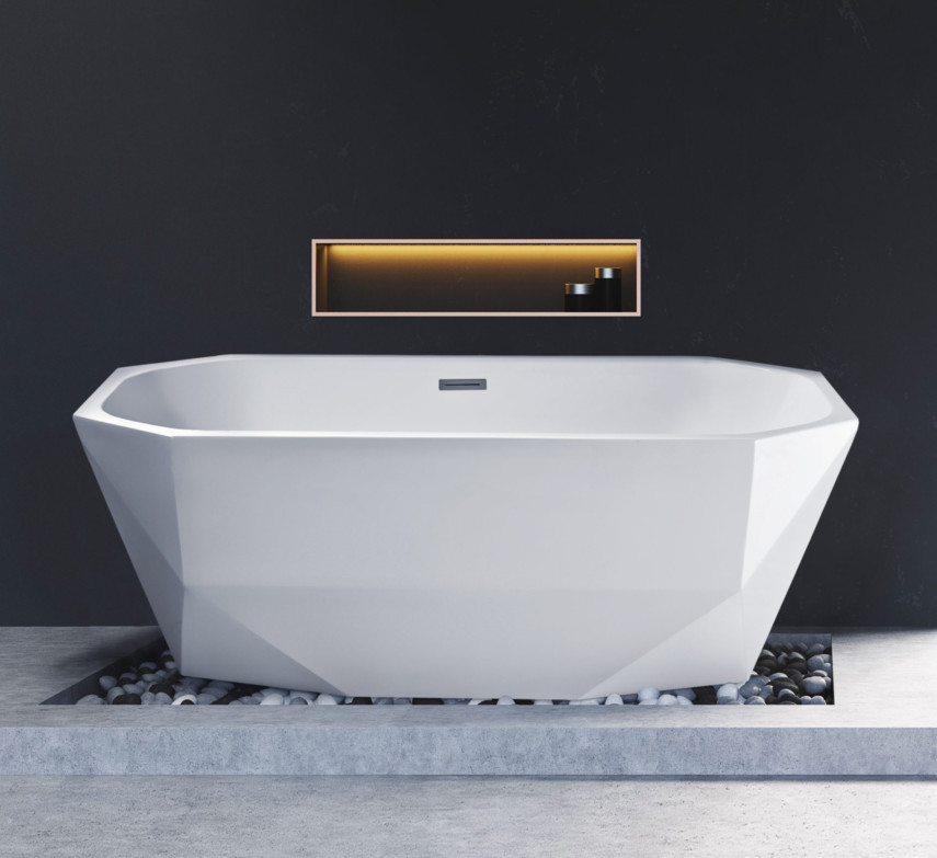 octagonal tub