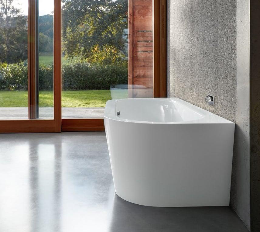 semi oval bathtub from Bette