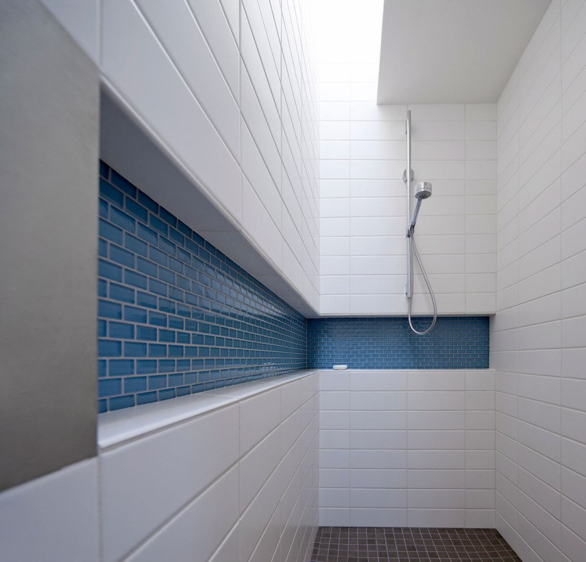 industrial style shower
