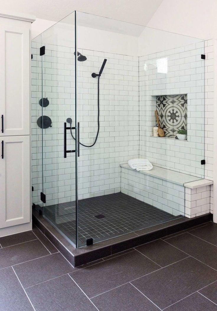 centerpiece shower niche