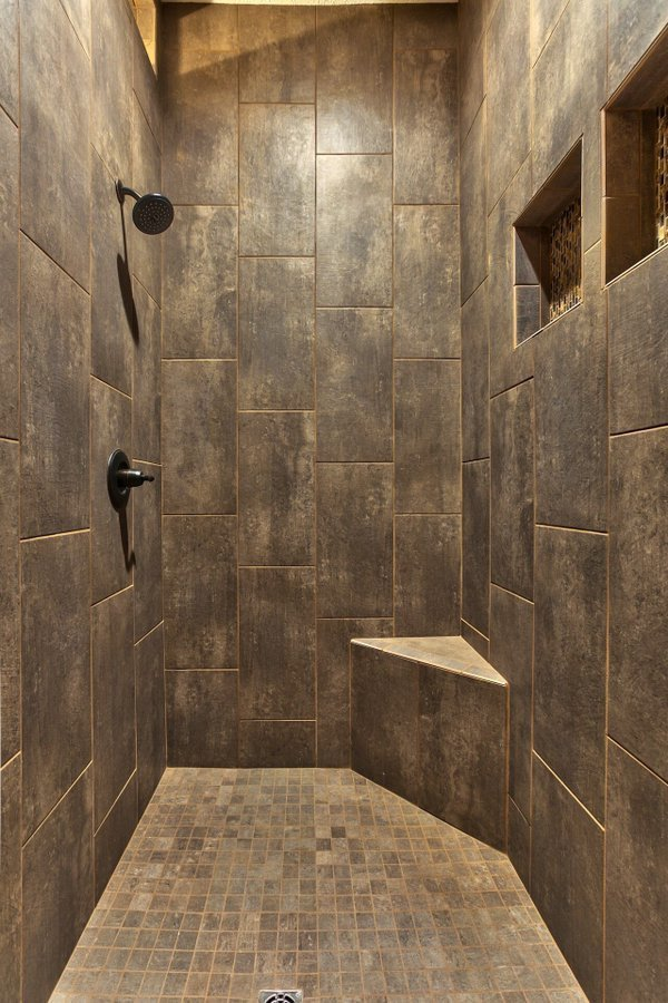 dark castle themed shower
