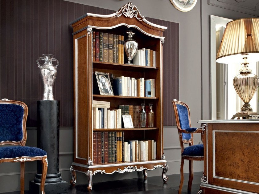 baroque style bookcase