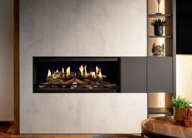 built-in fireplace types