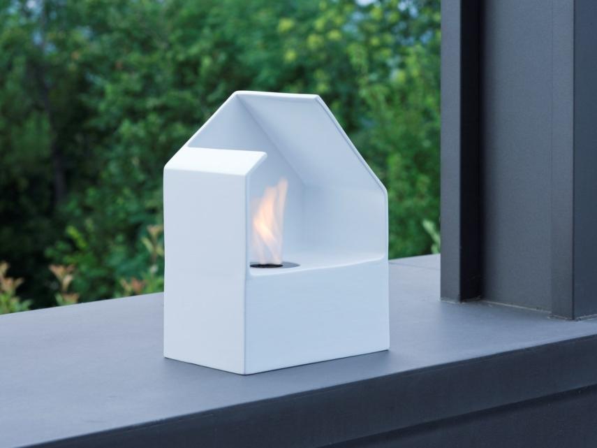 ceramic fireplace