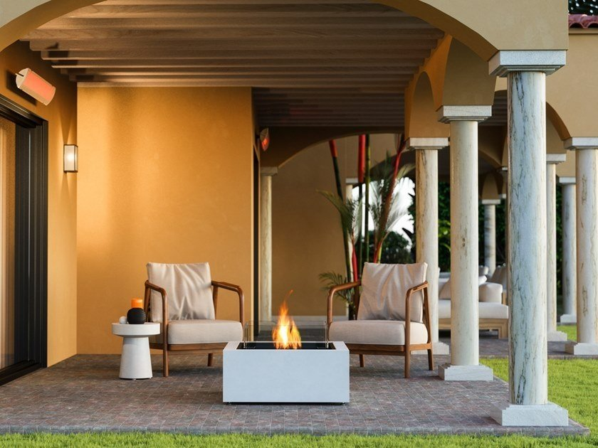 composite materials fireplace