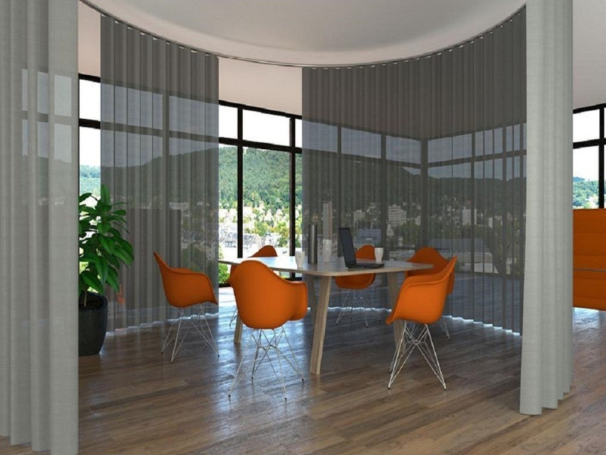 Contemporary style curtains