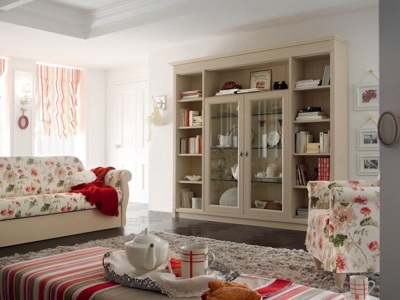 country style bookcase