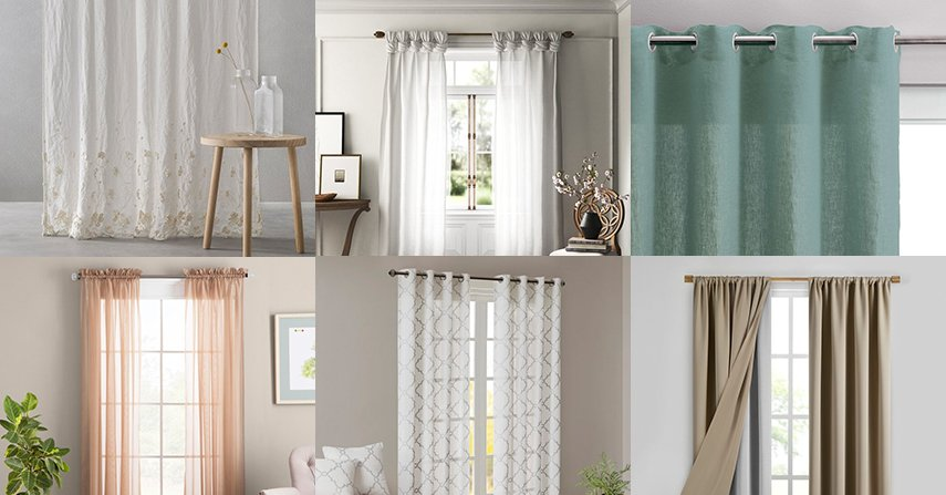 Different types of curtains - Interior design guide