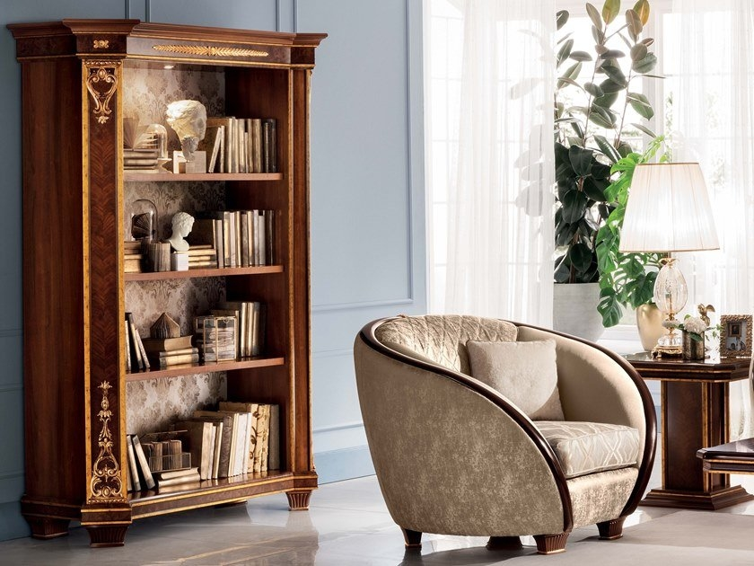 neoclassical style bookcase