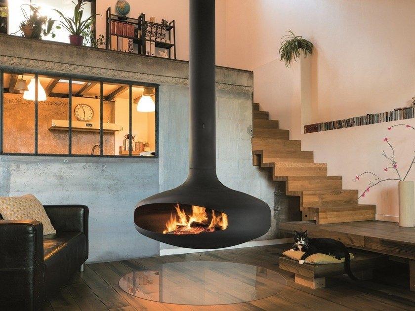 hanging fireplace type