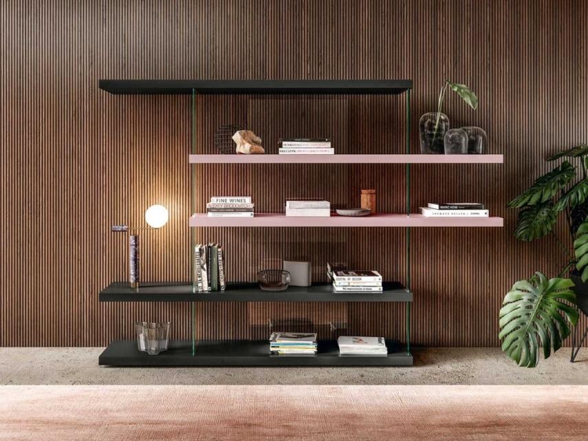 open design bookcase