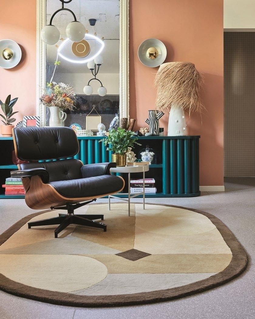 oval shape rug