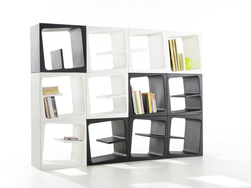 plastic bookcase
