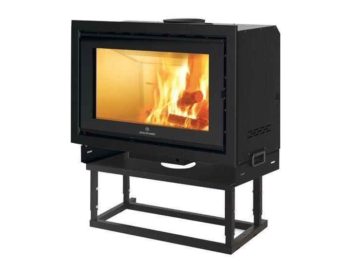 prefabricated fireplace