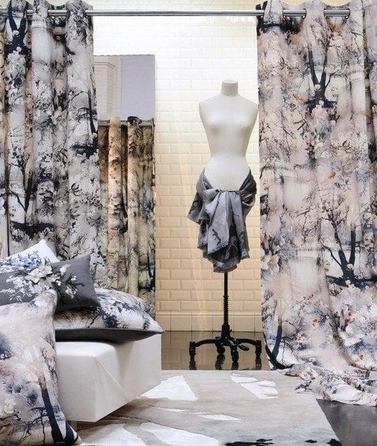 Printed curtains