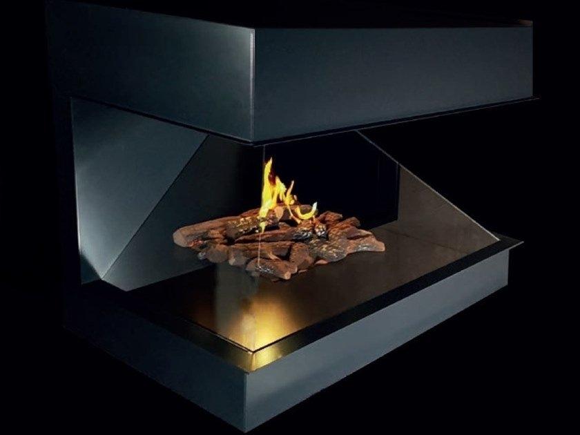 push-button fireplace