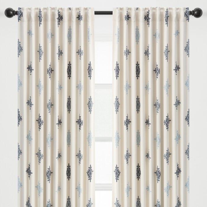 Rod pocket curtain attachment