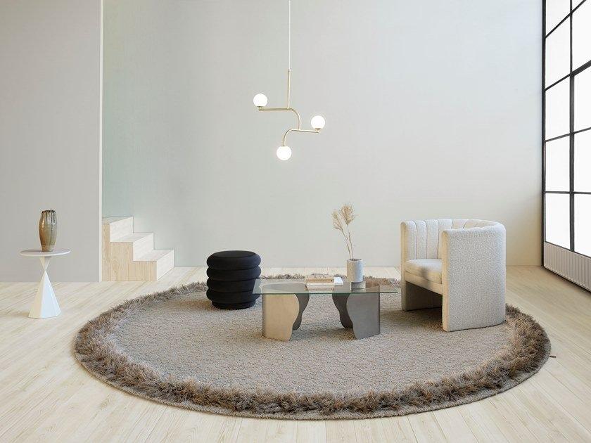 round shape rug