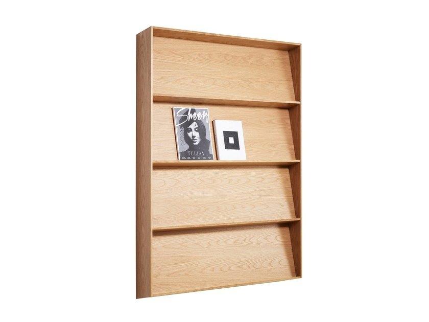 scandinavian style bookcase